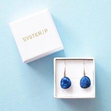 Load image into Gallery viewer, SYSTER P GLAM GLAM EARRINGS SODALITE