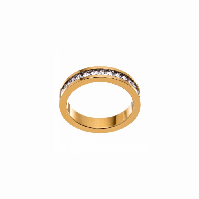 EDBLAD LEAH RING SHINY GOLD