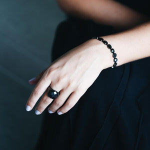 EDBLAD EVENING RING BLACK