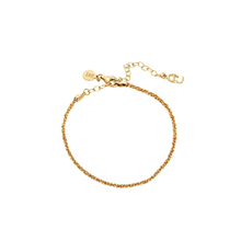 Load image into Gallery viewer, CU JEWELLERY ROOF PLAIN BRACELET GOLD