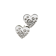 Load image into Gallery viewer, EDBLAD SPARKLE HEART STUDS STEEL