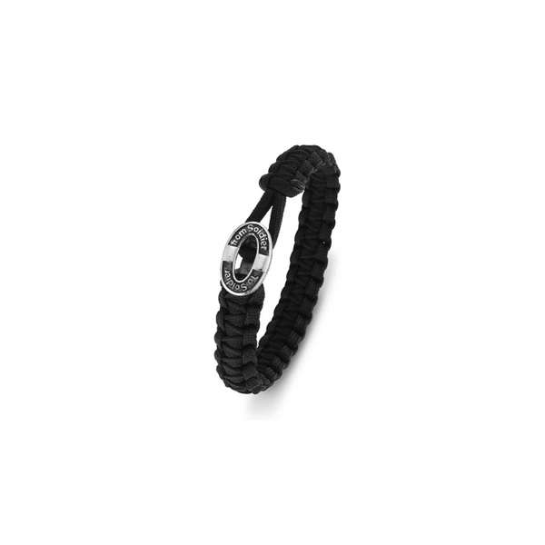FROM SOLDIER TO SOLDIER BRACELET BLACK