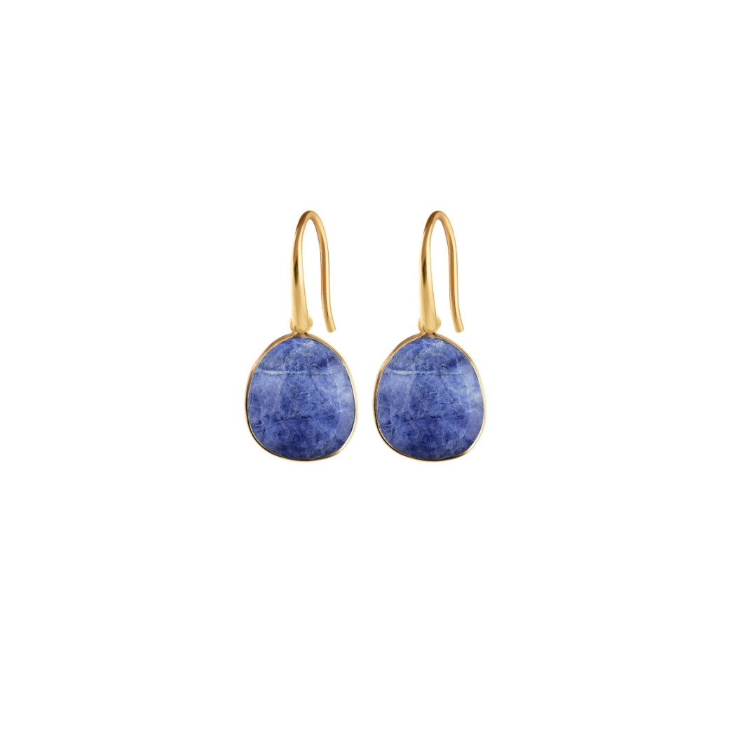 SYSTER P GLAM GLAM EARRINGS SODALITE