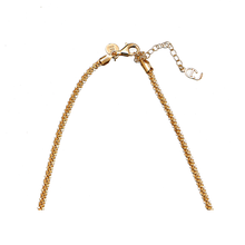 Load image into Gallery viewer, CU JEWELLERY ROOF BIG PLAIN SHORT NECKLACE GOLD