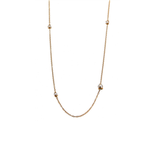 Load image into Gallery viewer, CU JEWELLERY PEARL NECKLACE LONG GOLD