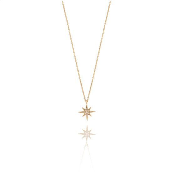 CU JEWELLERY ONE STAR NECKLACE GOLD