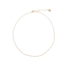 Load image into Gallery viewer, CU JEWELLERY TWO BEADED NECKLACE GOLD