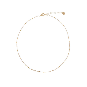CU JEWELLERY TWO BEADED NECKLACE GOLD