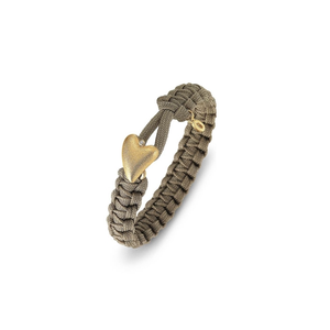FROM SOLDIER TO SOLDIER BRACELET, SAND GOLD