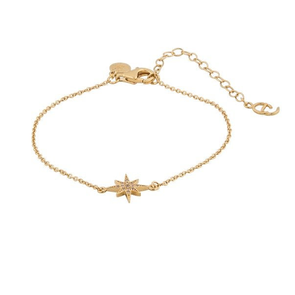 CU JEWELLERY ONE STAR BRACELET GOLD
