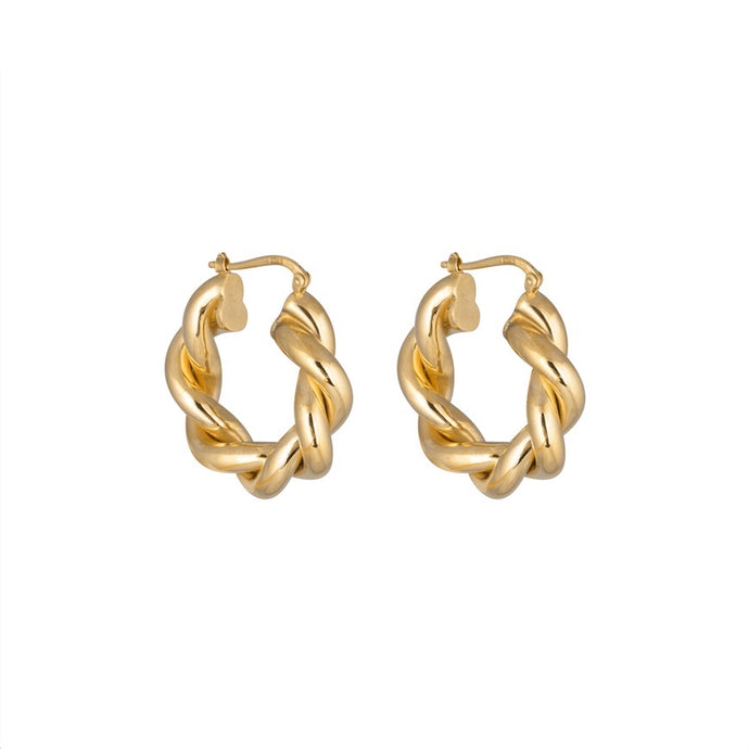 CU JEWELLERY VICTORY BIG TWIN EAR GOLD