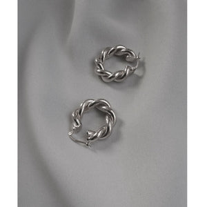 CU JEWELLERY VICTORY BIG TWIN EAR SILVER