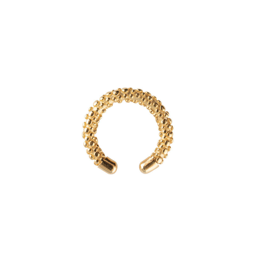 CU JEWELLERY-VICTORY-BUBBLE-CUFF-GOLD-2011420001