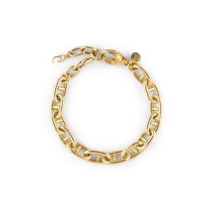 CU JEWELLERY VICTORY CHAIN BRACELET GOLD