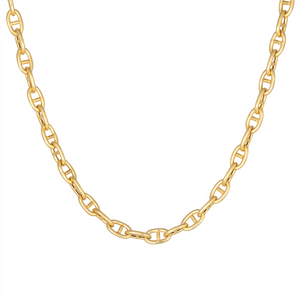 CU JEWELLERY VICTORY CHAIN NECKLACE GOLD SHORT
