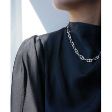 Load image into Gallery viewer, CU JEWELLERY VICTORY CHAIN NECKLACE SILVER LONG