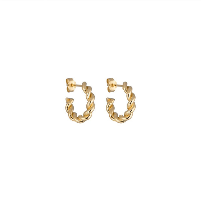 CU JEWELLERY VICTORY SMALL TWIN EAR GOLD