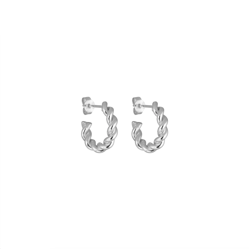 CU JEWELLERY VICTORY SMALL TWIN EAR SILVER