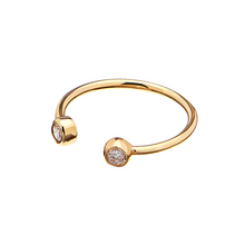 Load image into Gallery viewer, CU JEWELLERY BRILLIANT RING GOLD