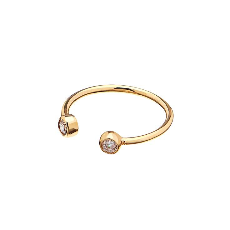 CU JEWELLERY BRILLIANT RING GOLD