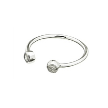 Load image into Gallery viewer, CU JEWELLERY BRILLIANT RING SILVER