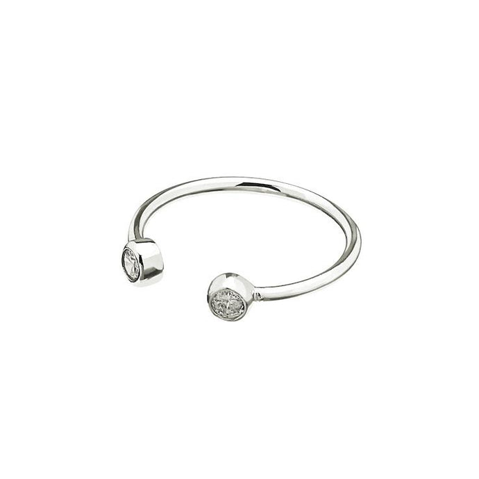 CU JEWELLERY BRILLIANT RING SILVER