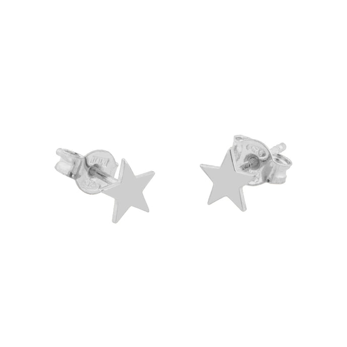 CU JEWELLERY DOUBLE STAR EARRINGS SMALL