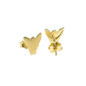 CU JEWELLERY FLY EARRINGS GOLD