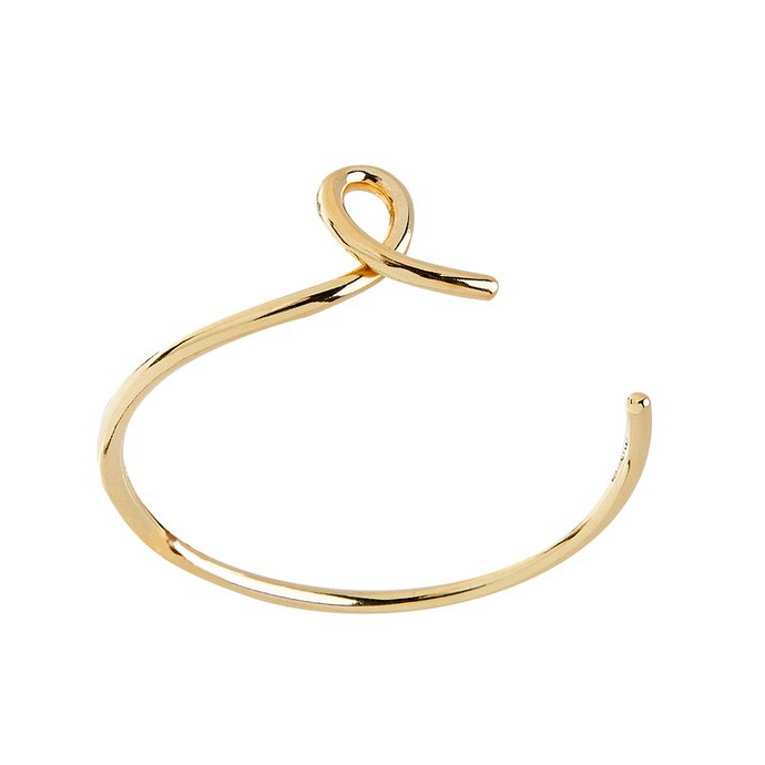 CU JEWELLERY LOOP BRACELET ARMBAND GOLD