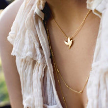 Load image into Gallery viewer, CU JEWELLERY PEACE NECKLACE GOLD