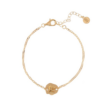 Load image into Gallery viewer, CU JEWELLERY TWO ELEPHANT BRACELET GOLD