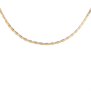 CU JEWELLERY VICTORY PLAIN NECKLACE GOLD