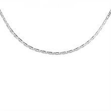 Load image into Gallery viewer, CU JEWELLERY VICTORY PLAIN NECKLACE SILVER