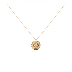 CU JEWELLERY VICTORY SHORT NECKLACE GOLD