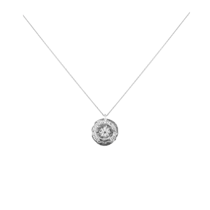 CU JEWELLERY VICTORY SHORT NECKLACE SILVER