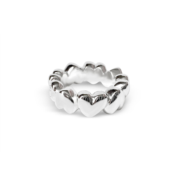DESIGN MRS MI HEAVY HEART RING