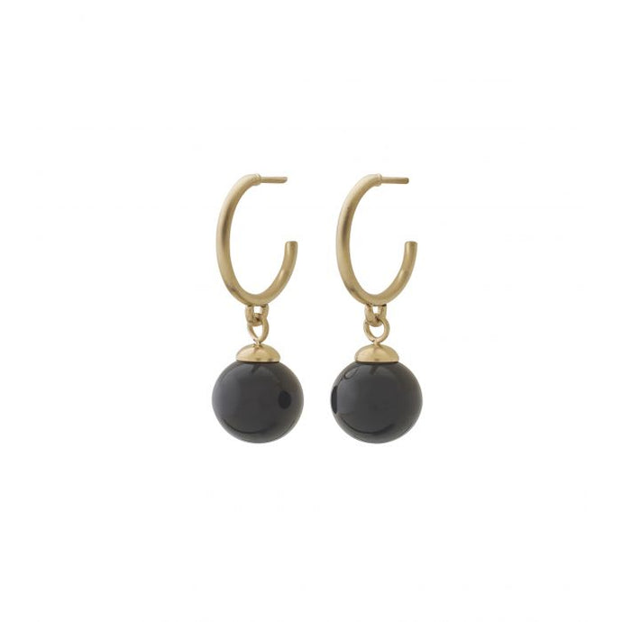EDBLAD ATOM EARRINGS BRAVE GOLD