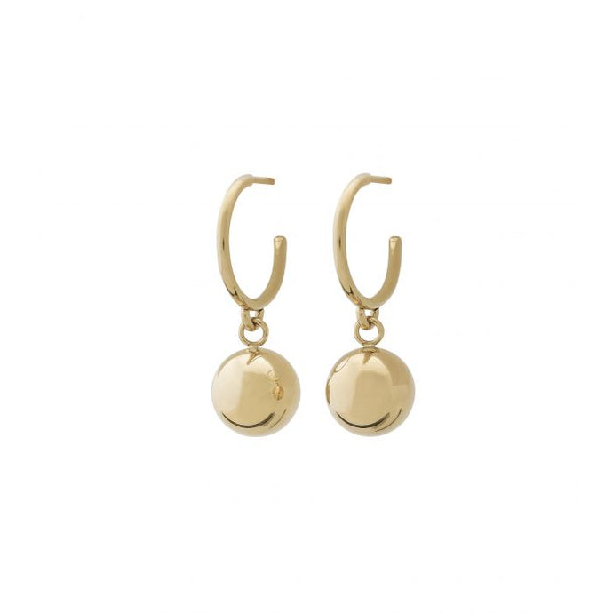 EDBLAD ATOM EARRINGS GOLD