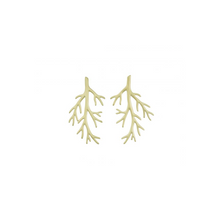 Load image into Gallery viewer, EDBLAD BRANCH EARRINGS GOLD