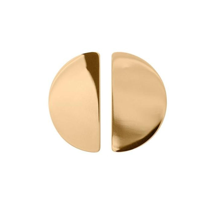 EDBLAD SHAPES STUD SEMICIRCLE GOLD