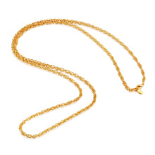 Load image into Gallery viewer, LA MAISON BAGATELLE RIVER NECKLACE GOLD Klassiskt snygg cordell kedja.  Redigera alternativ text