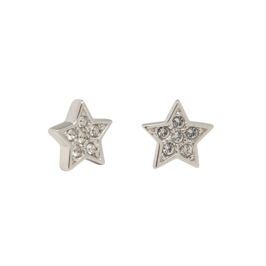LA MAISON BAGATELLE STAR EARRINGS SILVER