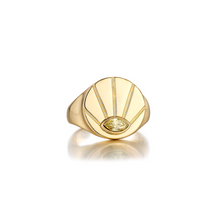Load image into Gallery viewer, LA MAISON BAGATELLE SUNRISE RING GOLD En ring med evig soluppgång