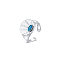 Load image into Gallery viewer, LA MAISON BAGATELLE SUNRISE RING SILVER En ring med evig soluppgång