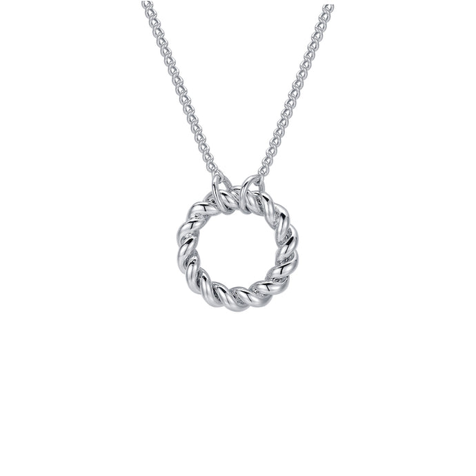 LA MAISON BAGATELLE TWIN NECKLACE SILVER