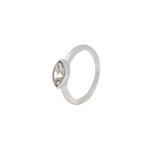 Load image into Gallery viewer, LA MAISON BAGATELLE NAVETTE RING SILVER
