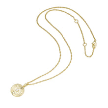 Load image into Gallery viewer, LA MAISON BAGATELLE PLEATED NECKLACE GOLD