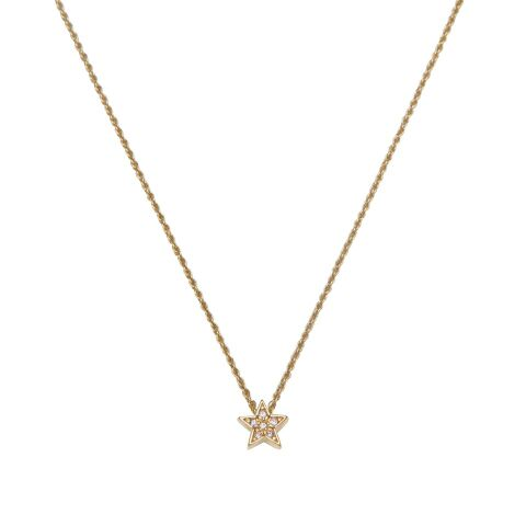 LA MAISON BAGATELLE STAR NECKLACE GOLD