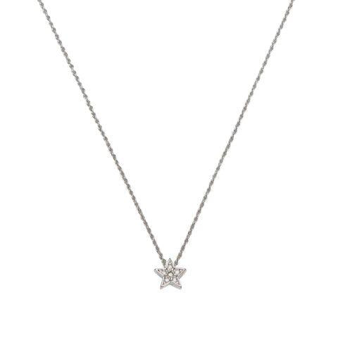 LA MAISON BAGATELLE STAR NECKLACE SILVER