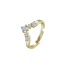 Load image into Gallery viewer, LA MAISON BAGATELLE TEMPLE RING GOLD